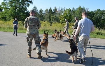 MWD, handlers receive conflict management training