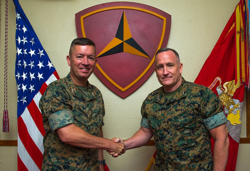 3rd Marine Division Commanding General Relief and Appointment
