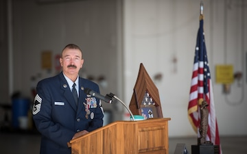 Chief Master Sgt. Scotty Seiverling retirement ceremony