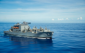 Military Sealift Ships in Southeast Asia Participate in Valiant Shield