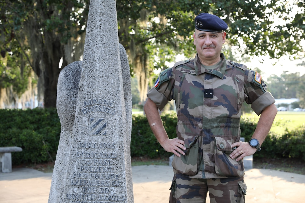 French Army general establishes legacy in 3rd Infantry Division