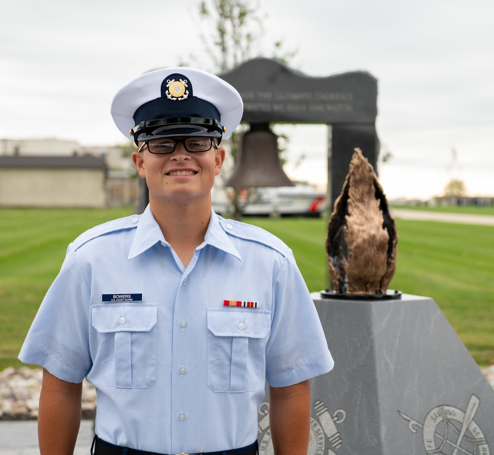 U.S. Coast Guard boot camp graduate selected as Honor Graduate
