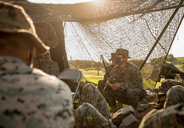 Your Basic Bivouac | Marines with CLR-37 conduct a MCCRE