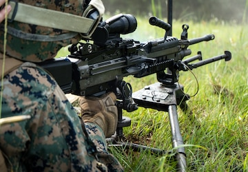 3rd Law Enforcement Battalion conducts live fire range