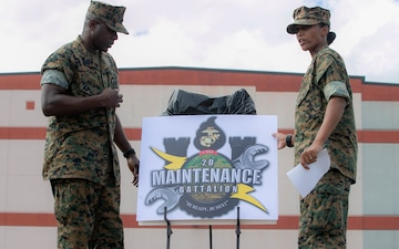 2nd Maintenance Battalion Celebrates 70th Anniversary