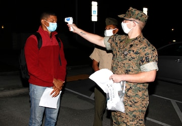 Partner Nation service members arrive in North Carolina to integrate with task force