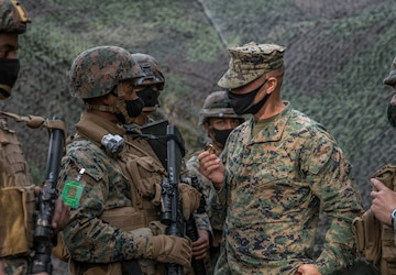 U.S. Marines with CLR-37 Conduct a MCCRE