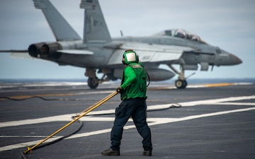 USS Carl Vinson (CVN 70) Conducts Flight Operations