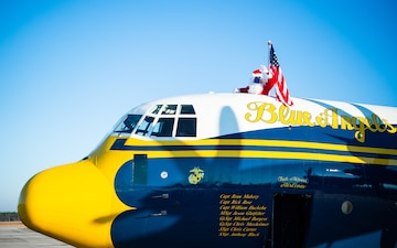 Blue Angels Support Toys for Tots Foundation in Lake Charles, Louisiana Toy Relief Mission