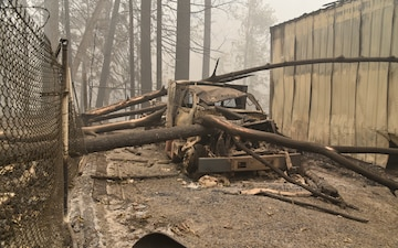 Beachie Fire impacts Detroit Dam