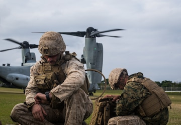 U.S. Marines with 31st MEU Coordinate Air Strikes