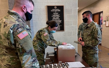 Hoosier Guardsmen drive forward in new COVID mission