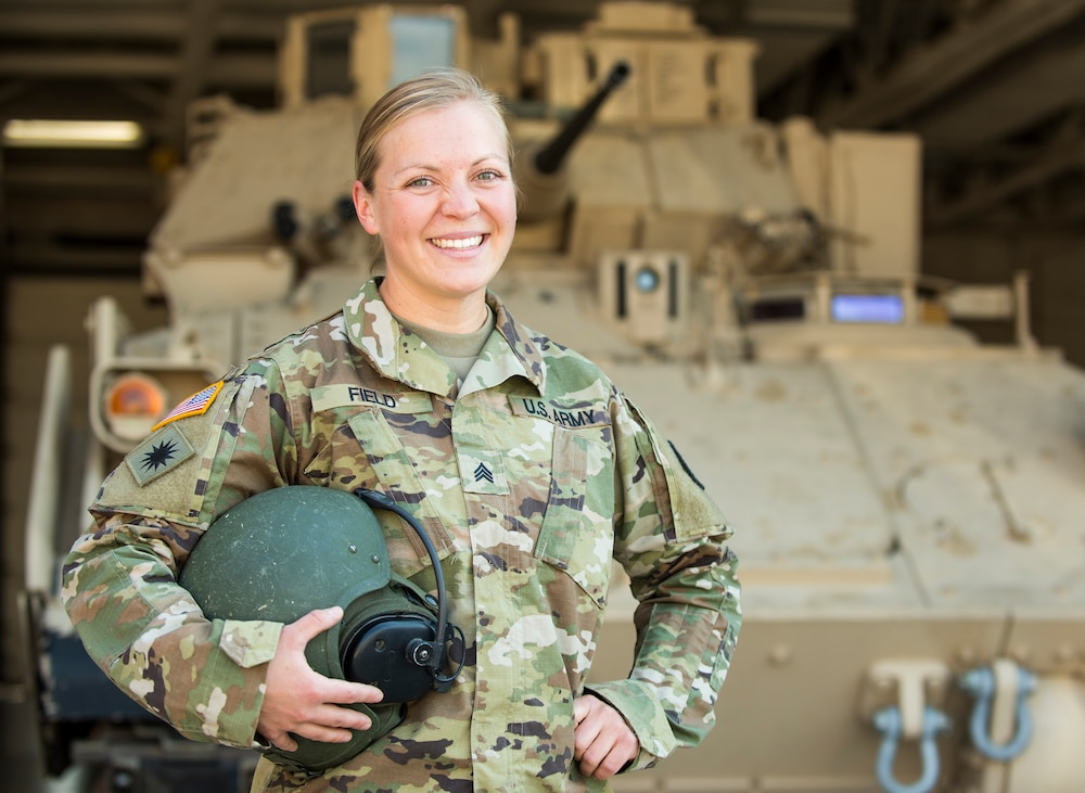 Soldier becomes Idaho's first female 19D cavalry scout instructor