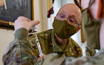 Maryland National Guard assisting with vaccinations