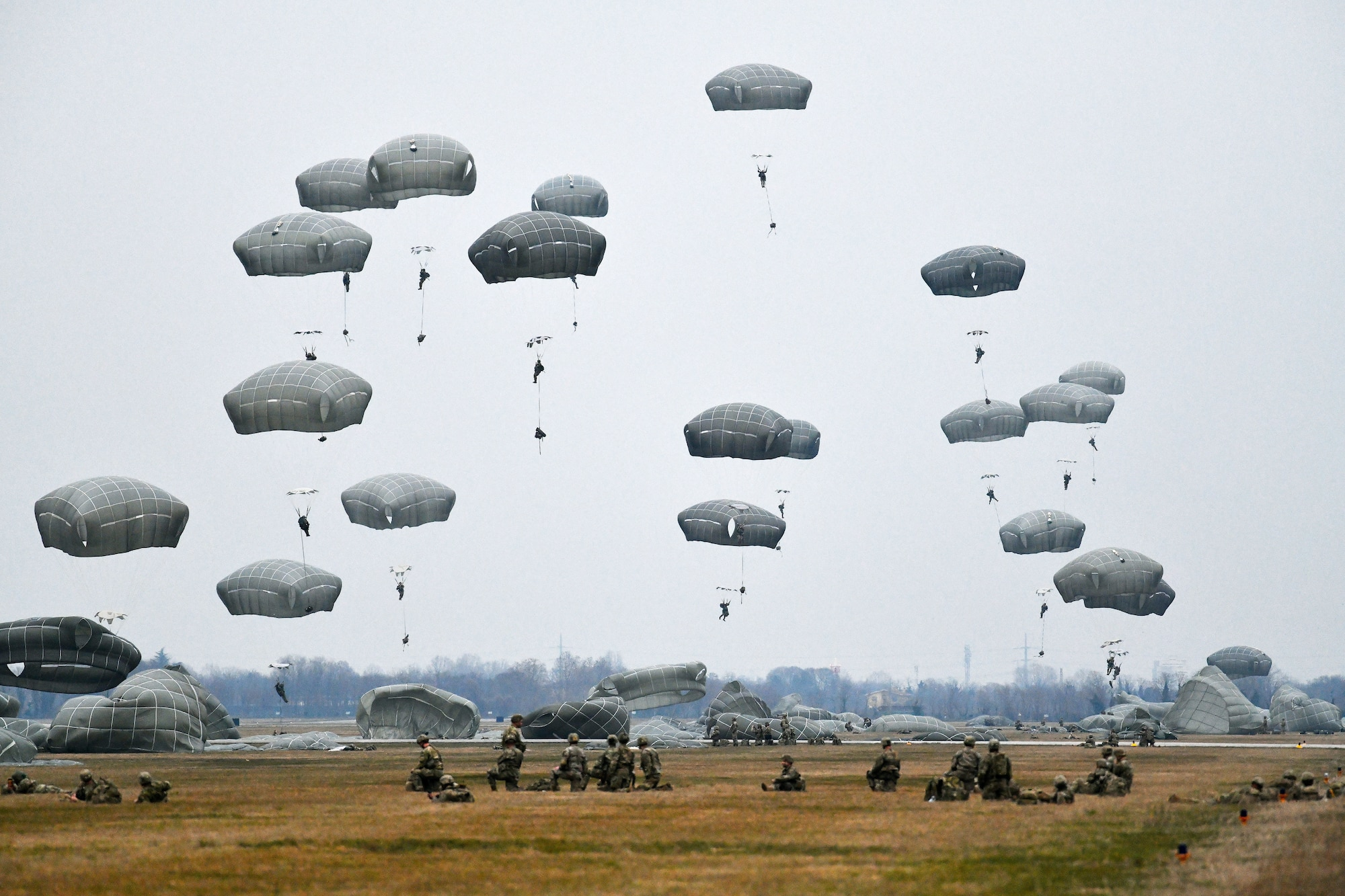 US Military News • NATO Airborne Operations • Exercise Eagle Ace II • Italy, Feb 18 2021