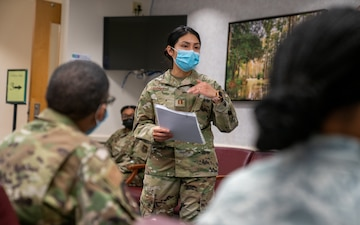 413th ASTS administers COVID-19 vaccines