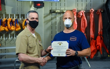 Seattle Native Named Naval Submarine School Q2 Instructor of the Quarter
