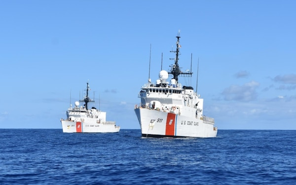Coast Guard Cutter Forward returns home after two-month patrol