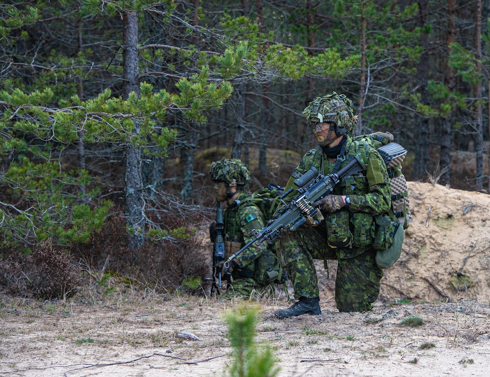 1st CAB and NATO eFP Battle Group-Latvia Conducts Joint Force Exercise