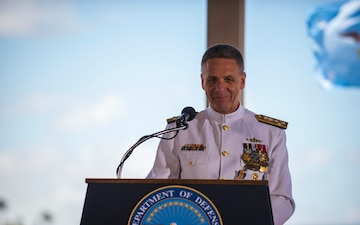 U.S. INDO-PACIFIC COMMAND CHANGE OF COMMAND CEREMONY