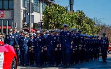 Service Members participate in Italian Heritage Parade during SFFW