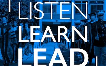Listen, Learn, Lead