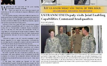 Joint Enabling Capabilities Command Newsletter - 04.11.2012
