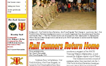 Rail Gunner Newsletter, The - 12.03.2012