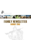 II Marine Expeditionary Force (Forward) Monthly Family Readiness Newsletter - 08.07.2013