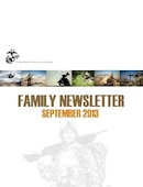II Marine Expeditionary Force (Forward) Monthly Family Readiness Newsletter - 09.09.2013