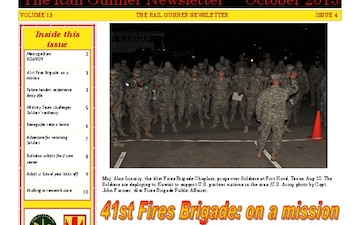Rail Gunner Newsletter, The - 10.07.2013
