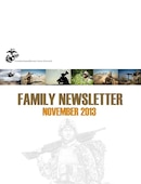 II Marine Expeditionary Force (Forward) Monthly Family Readiness Newsletter - 11.08.2013