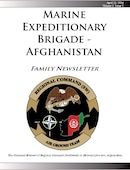 Marine Expeditionary Brigade - Afghanistan Family Newsletter - 04.11.2014