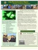 Iraq Reconstruction Report - 01.22.2007