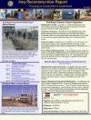 Iraq Reconstruction Report - 02.14.2007