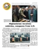 Defense and Security Highlights, Afghanistan - 02.26.2007