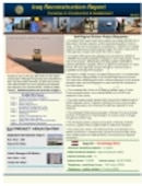 Iraq Reconstruction Report - 05.01.2007