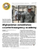 Defense and Security Highlights, Afghanistan - 05.03.2007