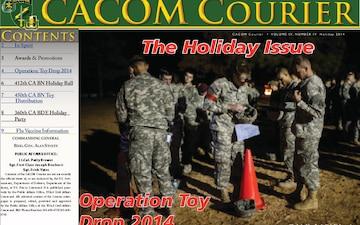 CACOM Courier - 12.22.2014