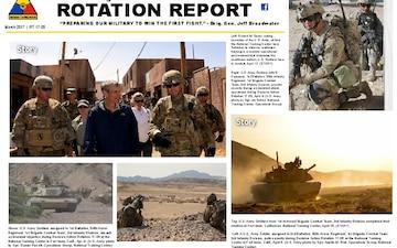 Rotation Report - 04.24.2017