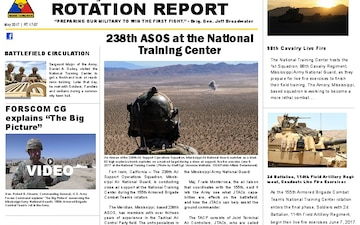 Rotation Report - 05.17.2017