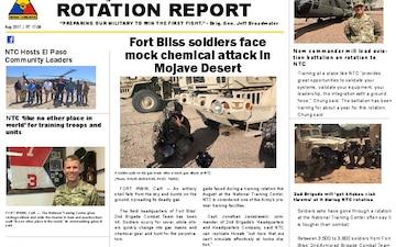 Rotation Report - 08.28.2017