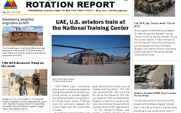 Rotation Report - 09.25.2017