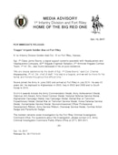 1st Infantry Division Press Releases - 10.13.2017