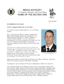 1st Infantry Division Press Releases - 10.23.2017