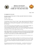 1st Infantry Division Press Releases - 05.07.2018