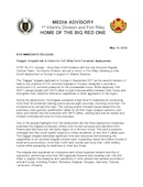 1st Infantry Division Press Releases - 05.14.2018