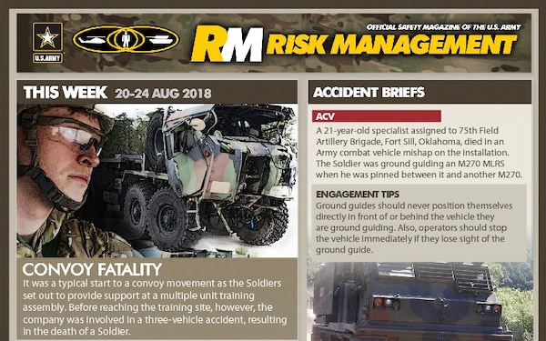 Risk Management Newsletter - 08.23.2018