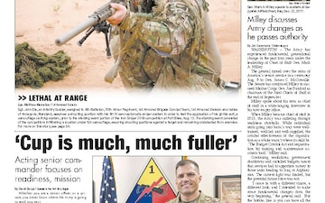 Fort Bliss Bugle - 08.22.2019