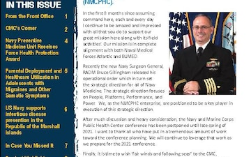 Navy and Marine Corps Public Health Center (NMCPHC) Publications - 03.01.2020